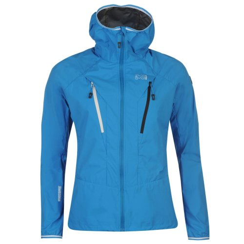Millet Trilogy Windstopper Jacket Womens Blue Outdoor Top Ladies Outerwear
