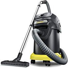 Karcher AD 4 Premium 16297330, Ash Vacuum, Metal, Black, 600 W, 80 Decibels