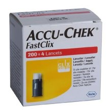 Accu-Chek FastClix 200+4 Lancets