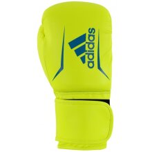 Speed 50 boxing gloves yellow/blue size 16 oz