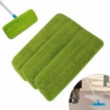 Microfibre Floor Mop Replacement Pads Cloths Spray Mop Refill Head Cloth Refil