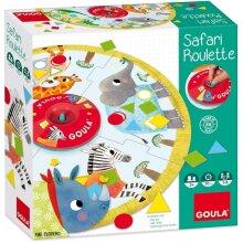 children's game Safari Roulette 43-piece