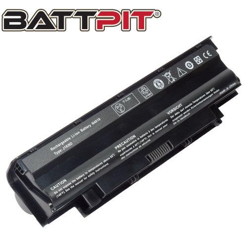 BattPit Battery for Dell J1KND 4YRJH 04YRJH 08NH55 Inspiron N3010 N5010 N5030 N5040 N5050 N5110 N7010 N7110 Vostro 1550 2520 3450 3555 [9-Cell/71Wh]