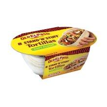 Old El Paso Stand 'n' Stuff Soft Flour Tortillas - 4x193g