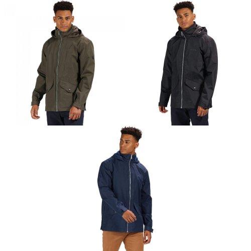 Regatta Mens Hartigan Waterproof Hooded Jacket