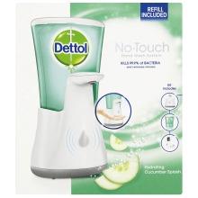 Dettol Automatic Hand Wash Dispenser, Hydrating Cucumber Splash 250 ml