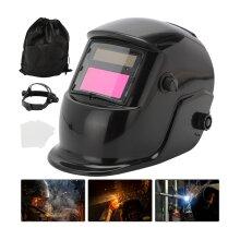 Auto Darkening Lcd Welding Helmet Mask Eye Safety Visor Solar Power