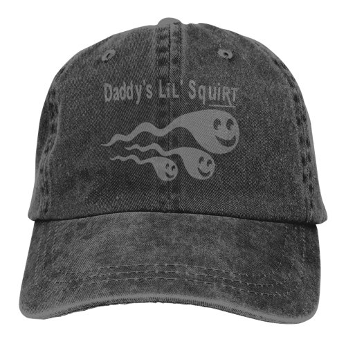 Grey Daddy's Lil's Squirt Denim Baseball Caps