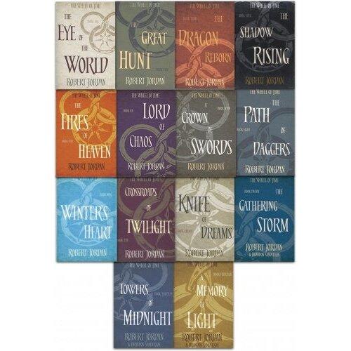 Robert Jordan The Wheel of Time Series Collection 14 Books Set