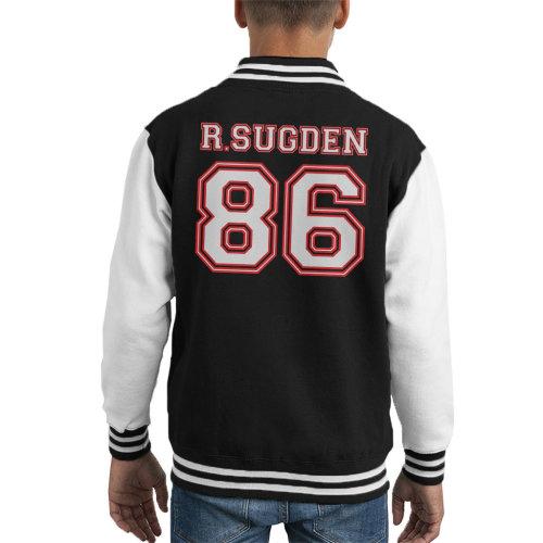 Robert Sugden 86 Emmerdale Sports Number Kid's Varsity Jacket
