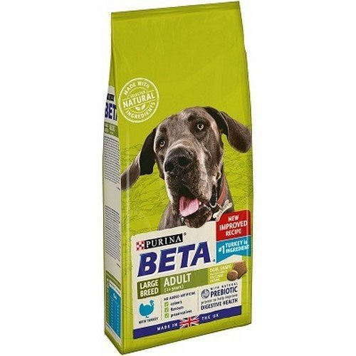 Purina Beta Adult Complete Dry Dog Food For Large Dogs