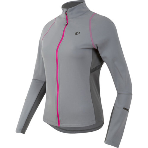 (XS, Monument / Smoked Pearl) PEARL iZUMi Ladies / Women's Select Escape Thermal Jersey