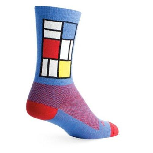 "Socks - SockGuy - Crew 6"" Windows S/M Cycling/Running"