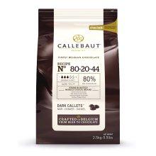 Callebaut dark chocolate chips (callets) 80%