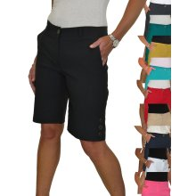 Womens Stretch Above Knee Mid Rise Shorts 8-22