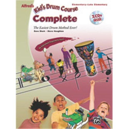 Alfred 00-27919 KIDS DRUM COURSE COMP-BK&2CD