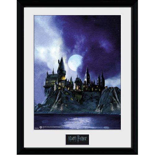 Harry Potter Hogwarts Painted Framed Photographic Print, 40 x 30 cm