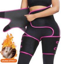 Neoprene thigh shaper slim-fit warm training pants