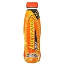 Lucozade Energy Orange Pmp 95P - 380Ml - Pack of 24