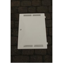 Gas Meter Box Door Complete - Key, Hinges and Latch Included