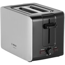 Bosch City TAT6A913GB 2 Slice Toaster - Silver / Stainless Steel - Refurbished