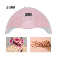 LED Nail Dryer Nail Polish Dryer Lamp Gel Acrylic Curing Light 54W