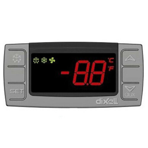 Dixell XR06CX-5N0C1 230V/50-60Hz Digital Thermostat Controller Defrost Fans Programmable-Commercial for Refrigerating Units