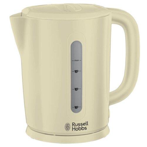 Russell Hobbs 21473 Darwin Kettle, 1.7 L, 2200 W - Cream