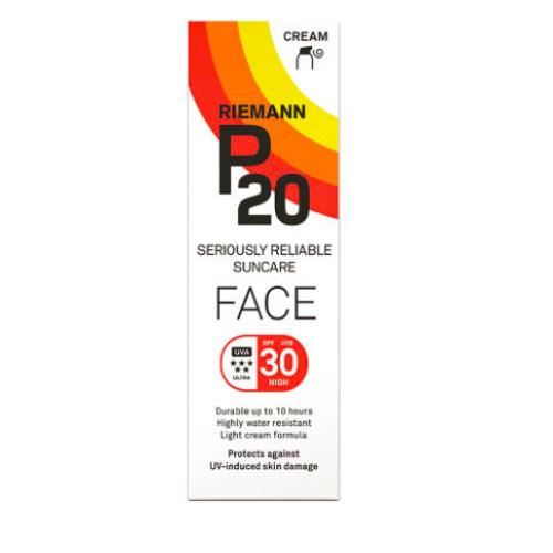 RIEMANN P20 - FACE CREAM - UVA 5* - UVB/SPF 30 - 50g