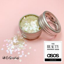 EcoStardust Ultra Chunky Sherbet Biodegradable Glitter PURE Opal
