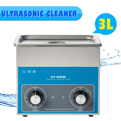 3L Ultrasonic Cleaner Ultra Sonic Tank Bath Adjustable Cleaning Heater