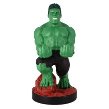 """Marvel Comics Crouching Hulk 8"""" Cable Guys with 2 Metre Micro USB Cable"""