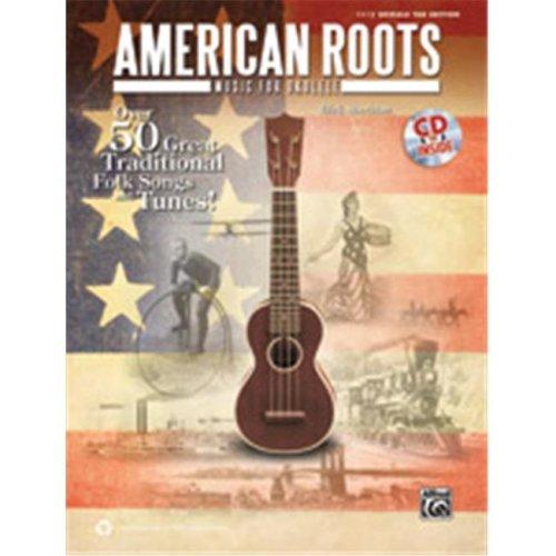 Alfred 00-39250 AMERICAN ROOTS MUSIC UKULELE-BK&CD