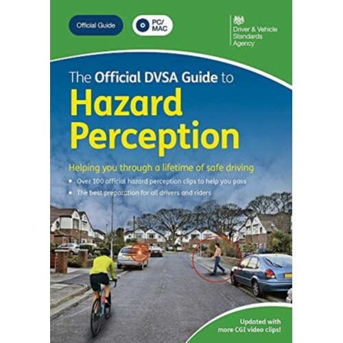 The official DVSA guide to hazard perception DVD-ROM by Driver and Vehicle Standards Agency