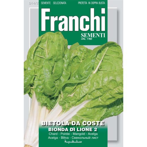 Franchi Seeds of Italy - DBO 14/2 - Swiss Chard - Bionda Di Lione 2 - Seeds