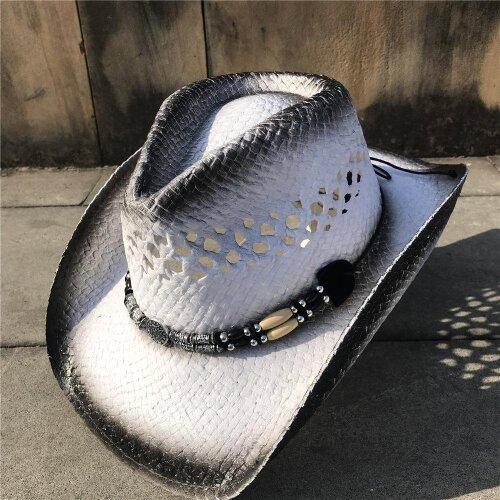 Straw For Women/men, Cowboy Cowgirl Sun Hat