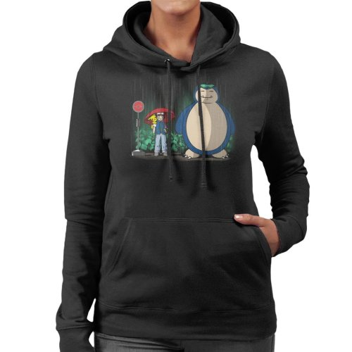 Pokemon My Neighbour Snorlax Women's Hooded Sweatshirt