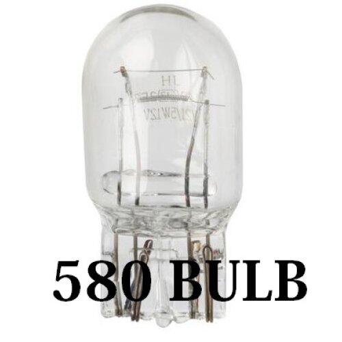 12v 21/5w W21/5W 580 Capless Brake & Tail Car Bulb - 580 bulb