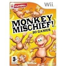 Monkey Mischief Nintendo Wii Game - Used