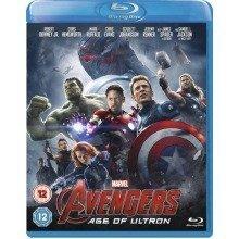 Avengers - Age Of Ultron Blu-Ray [2015]