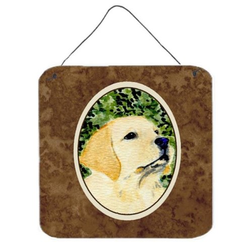 Labrador Aluminium Metal Wall Or Door Hanging Prints