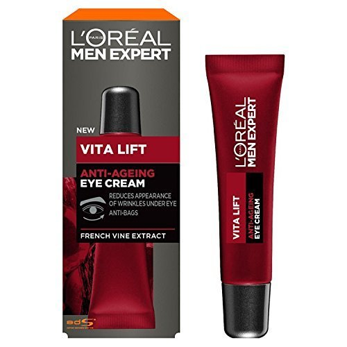 L'Oreal Men Expert Vita Lift Anti-Ageing Eye Cream, 15 ml