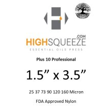 1.5x3.5 HighSqueeze Rosin Micron Extraction Filter Bags