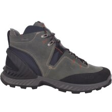 Ecco Mens Exohike Mid GTX Gore-Tex Waterproof Hi Top Walking Trail Boots - Black