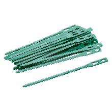 135mm Pack Of 30 Adjustable Plant Ties - 30pk Silverline Garden 197535 -  ties plant adjustable 135mm 30pk silverline garden 197535