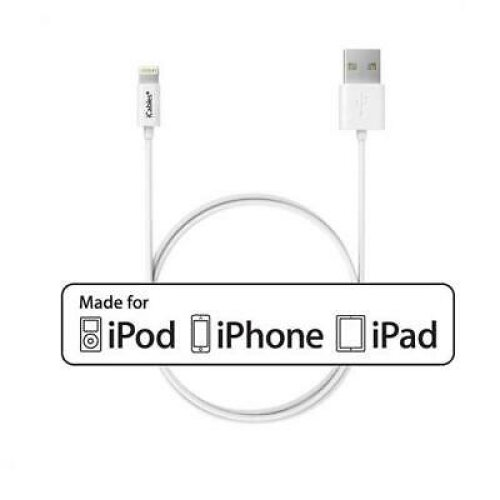 Apple Certified Lightning USB Cable For iPhone 6 Plus - Length: 50cm