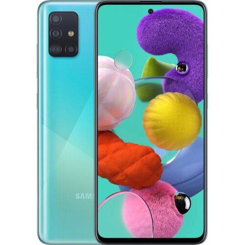 (Unlocked, Blue) Samsung Galaxy A51 Dual Sim | 128GB | 6GB RAM