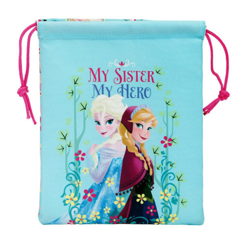 Frozen My Sister My Hero Lunch Bag - Multi-colour - Disney Official Licensed -  bag disney frozen official licensed lunch my cooler box school picnic