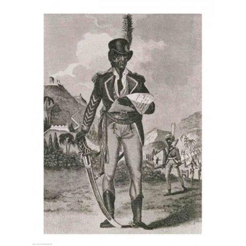 Portrait of Francois Dominique Toussaint-Louverture Poster Print - 18 x 24 in.