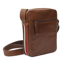 Primehide Mens Small Leather Tablet Messenger Bag - Everyday Man Bag - Texan Collection - 8412